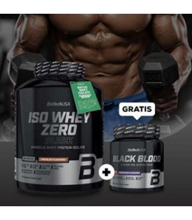Iso whey zero black biotech usa 2270 gr +Black Blood 300 gr